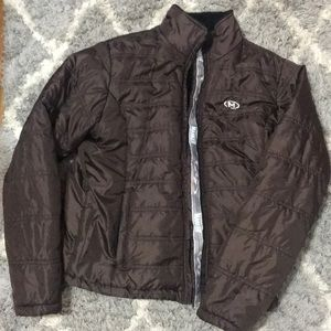 Brown Marker winter Jacket